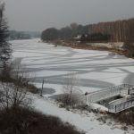Piława zimą - idealna do łowienia ryb pod lodem