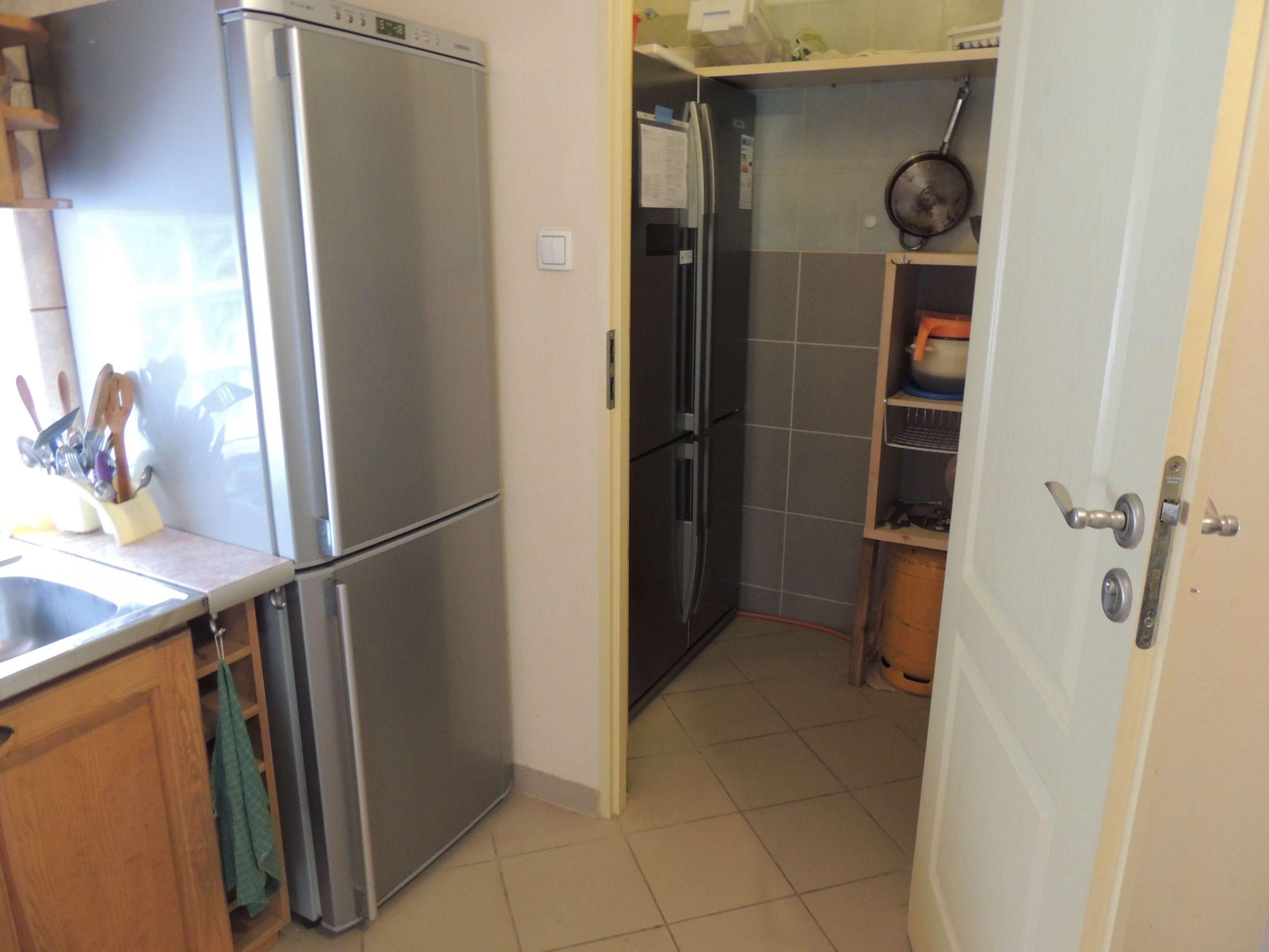 kuchnia dwie lodówki